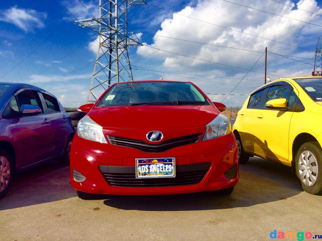Toyota Vitz, 27000 км, цена 455000 руб.